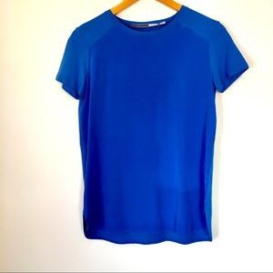 SportMax Code Silk T Shirt Sz Small
